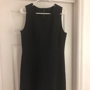 J Crew black daybreak dress